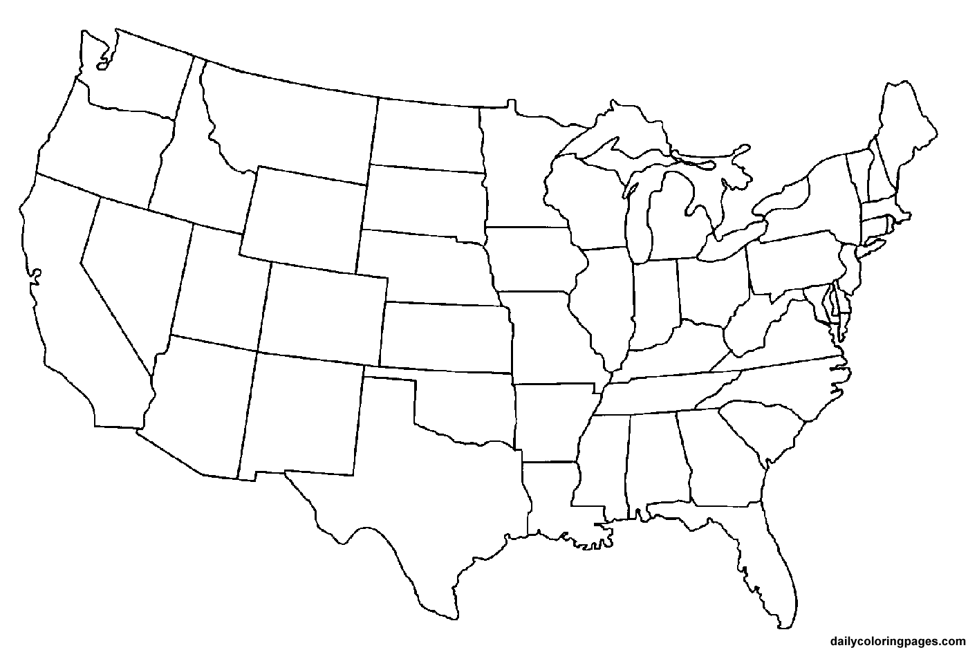 Diagram Collection Blank Us Map Printout More Maps Diagram And - Blank usa map images